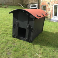The new eco duck house
